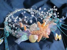 Mermaid Crown by NinaStokesArt on Etsy, $200.00