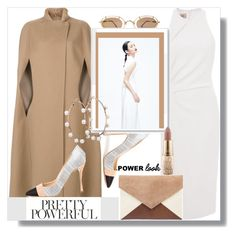 """Show off your Power Look with Confidence!"" by prettynposh2 ❤ liked on Polyvore featuring Cushnie Et Ochs, Agnona, Victoria Beckham and power"