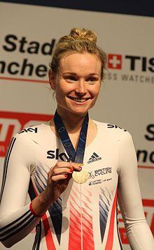 Ciara Horne - Cycling. Women's Track.