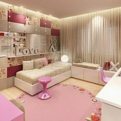 Modern Cute Cool Bedroom Decorating Ideas For Teenage Girls