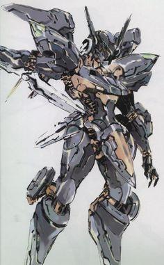 Yoji Shinkawa is The Man. This robot is The Stuff.