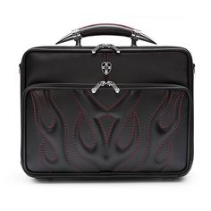Take care of business in style with this unique laptop briefcase from Zeyner. This bullfight leather computer briefcase has numerous pockets and sleeves to keep everything you need safe while on the go. It comes with an ergonomic shoulder strap.