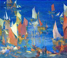 Armin Hansen (1886-1957) - Decoration