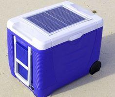 Cooler aproveita energia solar para resfriar bebidas