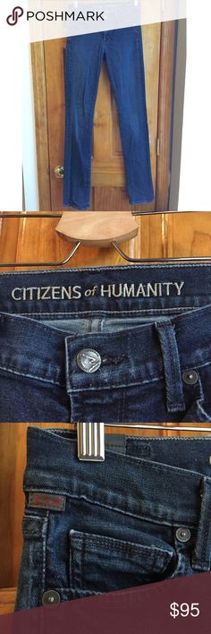"""30% OFF BUNDLES Citizens of Humanity ELSON Jeans Rise:9"""" Waist:14"""" Inseam:32"""" Total Length:43"""" All measurements are taken with the item laid flat.  Condition: EUC (Excellent Used Condition) Fit: Medium rise. Skinny fit. Stretchy. Material: See photos Color: Blue 30% off on bundles. I ship same-day from pet/smoke-free home. Buy with confidence. I am a top seller with over 500 5-star ratings and A LOT of love notes. Check them out! 😊😎 Citizens of Humanity Jeans Skinny"""