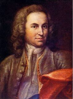 Portrait of the young Bach (disputed), Johann Ernst Rentsch the Elder (d. 1723).