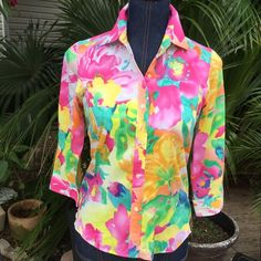 Today 15% off Beautiful Ralph Lauren What a summer buy!!!! Beautiful summer blouse!!!! Super excellent condition and super ready for a classy chic posher girl!!!! Price reflects discount today only Ralph Lauren Tops Blouses
