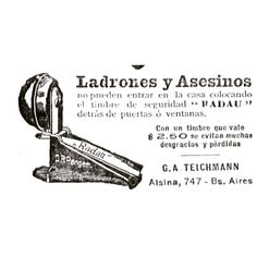 Timbre de seguridad #1905 #tango #argentina #buenosaires #vintage #ads