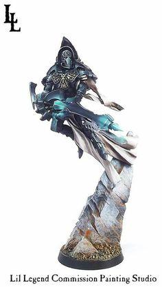 Warhammer 40k | Eldars | Ilyrith Phoenix Lord #warhammer #40k #40000