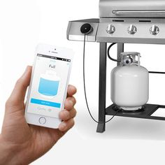 My husband would love this! Monitor your propane tank from your smartphone. #SantaPakSweeps