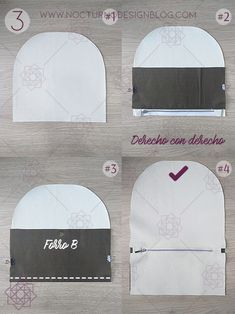 DIY Morral. Mochila forrada con cremallera. DIY Costura. Costura fácil paso paso. Tutorial de costura. Molde gratis. Free sewing pattern. Diy Purse, Design Blog, Sewing Patterns, Bubbles, Backpacks, Purses, Creative, Leather, Crafts