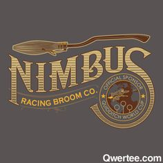 If you are looking for speed, the Nimbus is the only way to fly! Steve Thomas' new Harry Potter shirt design.