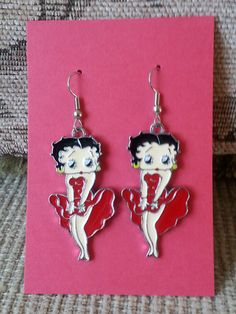 Betty Boop Earrings Only Pay Shipping On 1st Item by RoLoGifts2Go