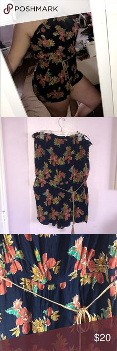 NWOT floral strapless romper 🌻 Forever 21+ Brand  🌻 Size 2x 🌻 NWOT  🌻BUNDLE AND SAVE! i always discount shipping on bundles! if you counter my offer on a bundle the discounted shipping disappears. Forever 21 Dresses