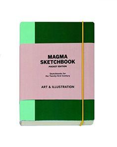 Magma Sketchbook: Art & Illustration: Mini Edition (Magma for Laurence King) Pocket Edition, Art Sketchbook, Things To Buy, Art Supplies, Illustrators, Illustration Art, Creative, Crayons, Sketchbooks