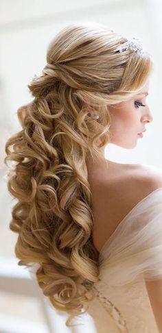 Splendid Our Favorite Wedding Hairstyles For Long Hair ❤ See more: www.weddingforwar… #weddings The post Our Favorite Wedding Hairstyles For Long Hair ❤ See more: www.weddingforwar…… appeared ..