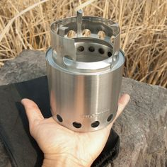 The Solo Stove is the ultimate backpacking stove - a lightweight, compact, efficient eco-friendly backpacking stove that will last you a lifetime.