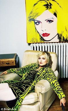 Debbie Harry - 2.5 million pictures of Debbie Harry, so what's one more?