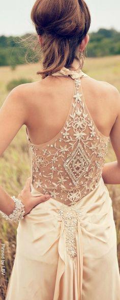 Champagne Bridal details   LBV ♥✤   BeStayElegant