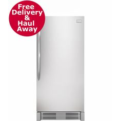 Frigidaire 18.6-Cu. Ft. Built-In All Refrigerator - Stainless Steel
