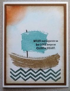 Love card for Operation Write Home, made using Gorgeous Grunge stamp set by Stampin Up