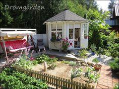 Drömgården: Öppen trädgård 4.8.13, del 1