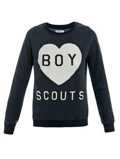 Zoe Karssen Boy Scouts Sweatsuit l wantering.com