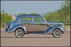 Factory-made, all-stainless steel 1936 Ford V8 sedan