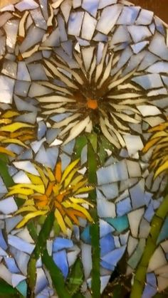 Hardboard makes a fine creation for your mosaics as long as you limit the size of the overall mosaic, limit the tesserae size, and don't … Mosaic Garden Art, Mosaic Tile Art, Mosaic Artwork, Mosaic Diy, Mosaic Glass, Mosaic Crafts, Fused Glass, Mosaic Projects, Stained Glass Projects