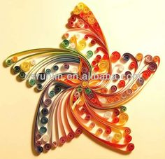 Handmade Easy Paper Quilling Patterns/quilling Paper Producer ...
