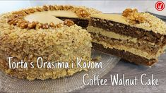 Torta s Orasima i Kavom | Coffee Walnut Cake - YouTube Sweet Recipes, Cake Recipes, Dessert Recipes, Desserts, Coffee And Walnut Cake, Coffee Cake, Torte Recipe, Air Fryer Recipes Easy, Croatian Recipes