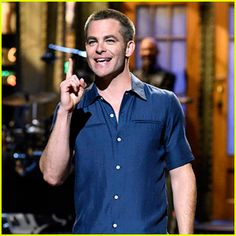 Chris Pine Looked Hotter Than Ever While Hosting 'SNL'