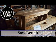 Build a $10 Split-Top Saw Bench for Woodworking (Short Version) - YouTube