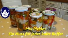 Buffet, Pickels, Youtube Comments, Cucumber, Breakfast, Erika, Food, Canning, Spices And Herbs