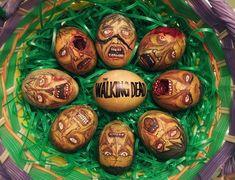 The Walking Dead Zombie Easter Eggs