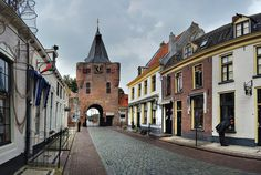 The historical town of Elburg, Holland. My great grandfather grew up in Elburg.  There is still a Docter Bakkerij and the baker is a close relative.  It is a quaint little fishing village.