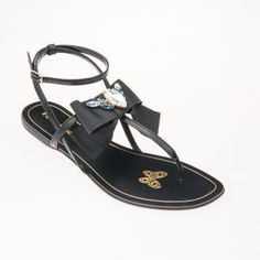 26 Best Crystal Flat Sandals images | Sparkly flats, Flat