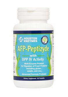 AFP-Peptizyde targets the digestion of gluten, casein, soy and other proteins.