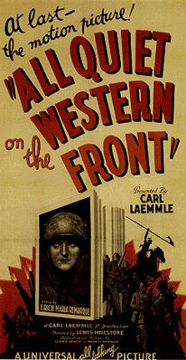 an analysis of alls quiet on the western front an anti war film by lewis milestone 2015-6-17 the most loved and hated novel about world war i  remarque's anti-war masterpiece tapped  that made goebbels see the all quiet on the western front film.