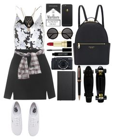"""""""Aesthetically pleasing"""" by ziamsangelz on Polyvore featuring The Row, Topshop, LowLuv, Henri Bendel, Dolce&Gabbana, Lord & Berry, Vans, Shinola and Montblanc"""