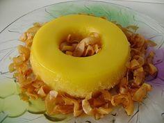 Quindim. Postre Coco, Grains, Mango, Sweets, Desserts, Gastronomia, To Tell, Brazilian Cuisine, Manga