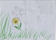 Hope is a picture my son made for me many many years ago before I became ill. He is my sunshine! --Got an Invisible Illness? Share Your Visible Hope Here! #iivhope
