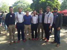 The Good South bow ties worn in the Grove at Ole Miss