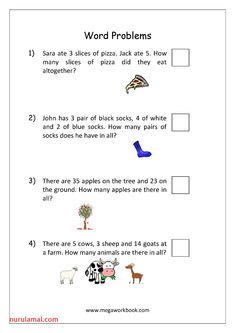 3 Addition Word Problems for Grade 3 Coloring Book Free Math Word Problems Worksheets worksheets Year 3 Maths Worksheets, English Worksheets For Kids, Printable Math Worksheets, Alphabet Worksheets, Free Printable, Kindergarten Worksheets, Subtraction Kindergarten, Coloring Worksheets, Addition Words