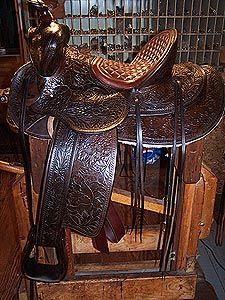 Brown Bohlin saddle-SR
