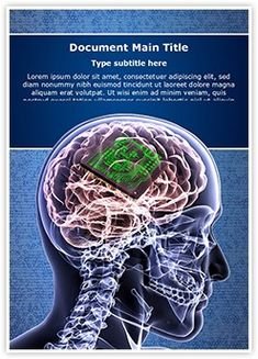 Brain Biochip Word Document Template is one of the best Word Document Templates by EditableTemplates.com. #EditableTemplates #PowerPoint #templates Human Face #Concept #Energy #Bright #Success #Cpu #Skull #Ideas #Imagination #Anatomy #Integrated #Shiny #Medical #Feelings And Emotions #Front #Radiogram #Thought #Creativity #Sunbeam #Human Head #Male #Learning #Knowledge #Concentration #Circuit #Radiology #Idea #Physical #Health #Expertise