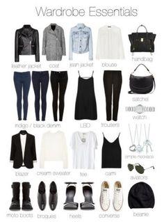 Minimal Wardrobe Essentials