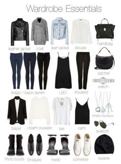 Need to update my closet this fall...starting with some of these essentials I don't have.