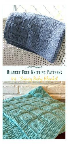 Baby Knitting Patterns, Free Baby Blanket Patterns, Easy Baby Blanket, Crochet Blanket Patterns, Baby Blanket Crochet, Baby Patterns, Free Knitting, Crochet Baby, Chevron Blanket