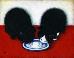 heidi shaulis | 17 Best images about Les chats de HEIDI SHAULIS-ART on ...